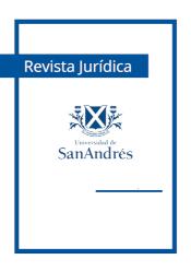 Revista Jurídica. Universidad de San Andrés